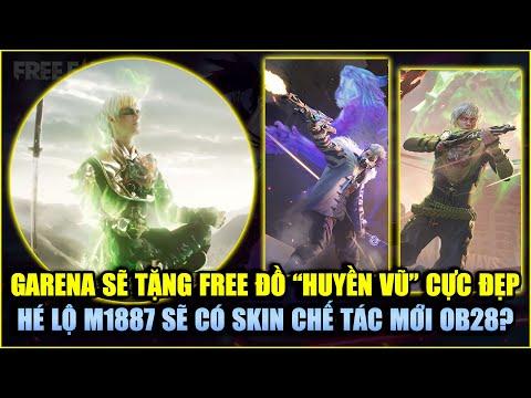 Free Fire   Garena Xác Nhận Tặng FREE Đồ Huyền Vũ Cực Đỉnh - M1887 Sẽ Có Skin Chế Tác Trong OB28?