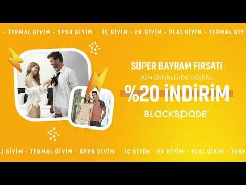Süper Bayram Fırsatı - Tüm Ürünlerde %20 İndirim l Blackspade