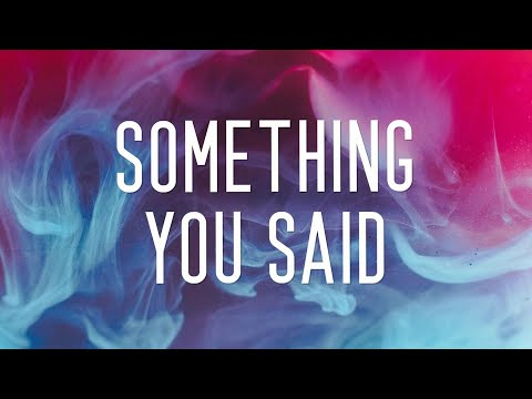 Wahlstedt & Rudelies - Something You Said (ft. Next To Neon)