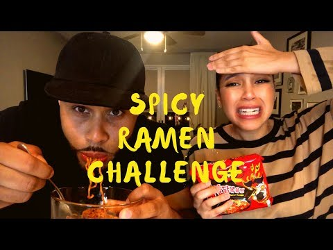 EXTREME SPICY NOODLE CHALLENGE 🔥