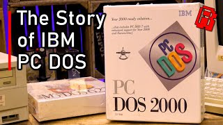 What is IBM PC DOS 2000? - History and Unboxing
