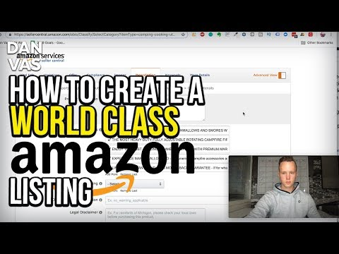 How To Create A World-Class Amazon FBA Product Listing That SELLS! Full Step-By-Step Tutorial (2019) thumbnail