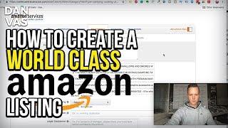 SATAN Dünya çapında Bir Amazon FBA Ürün Listesi Oluşturma! Tam Adım Adım Öğretici (2019)