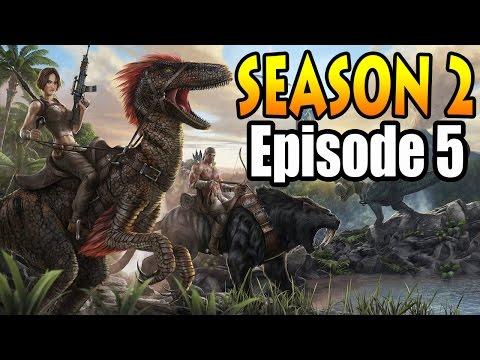Ark Survival: Giganotosaurus & Quetzal Tame Solo!! Season 2 Episode 5