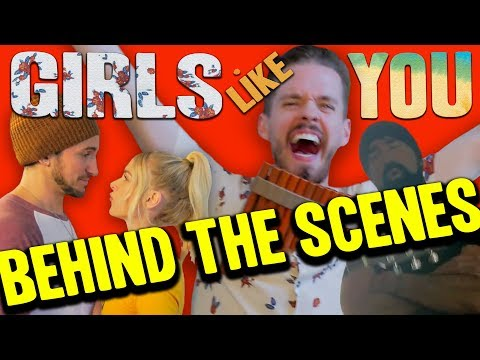 Behind The Scenes - Girls Like You -(Walk off the Earth)