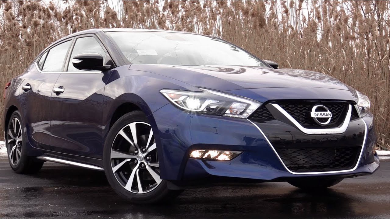 2018 Nissan Maxima: Review - YouTube