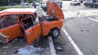 Последствия аварии на М1 в Смоленской области сняли на видео