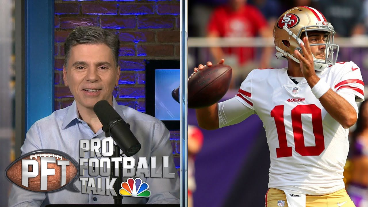 PFT Overtime: Pressure on Jimmy Garoppolo, Taysom Hill's future | Pro Football Talk | NBC Sports