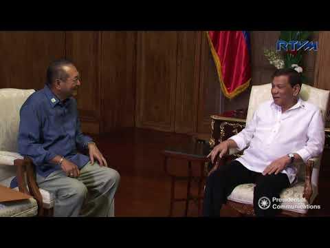 Meeting with Former Executive Secretary Eduardo Ermita 9/27/2017