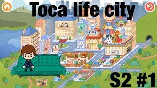 Toca life city | Dinner in The new city!! S2 #1