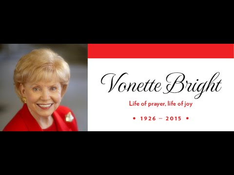 Vonnette Bright Has Gone Home
