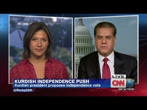 Kurdish Foreign Minister speaks to CNN
