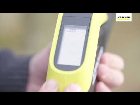 Kärcher K5/K7 - How to Pair your Trigger Gun to the Pressure Washer