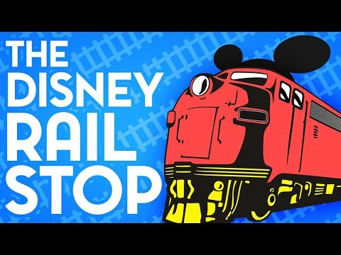 Disney's High-Speed Railroad Stop That Never Happened
