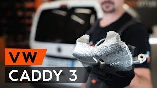 Instalação Pinças de freio traseiro e dianteiro VW CADDY: vídeo manual