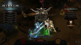 Diablo 3 Season 19 Spear Rend WW Barb Low Para(GR 120)!!