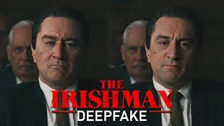 De-aging Robert Deniro in The Irishman [DeepFake]