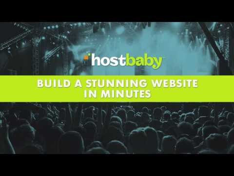 How to build a band website in just Minutes
