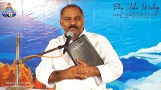 Gambar cover 25.9.2018 Aswaraopeta Live1080p Pas.John Wesley anna Message Hosanna Ministries