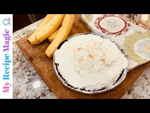 Easy Oreo Banana Cream Pie