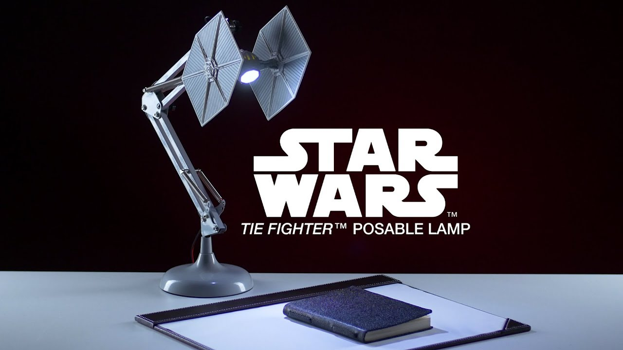 Star Wars Tie Fighter Poseable Lamp Paladone