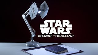 Star Wars TIE Fighter Poseable Lamp | Paladone