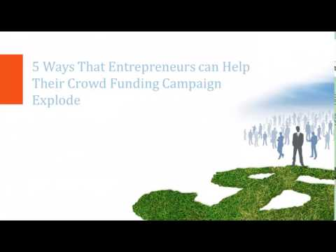 Five Steps to Crowd Funding with Indiegogo VP Liz Wald.