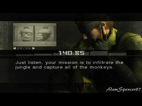 Metal Gear Solid 3 Subsistence - Snake VS Monkey FULLHD Guide