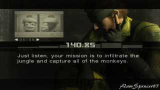 Metal Gear Solid 3 Subsistence - Snake VS Monkey FULLHD Guide