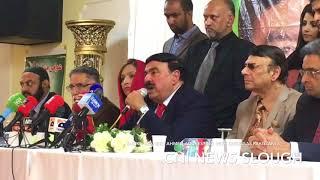 SHEIKH RASHEED AHMED ADDRESSED WITH OVERSEAS PAKISTANIS:CNI News