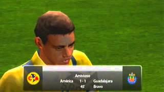 FIFA 06 Gameplay (Xbox) - América vs Guadalajara