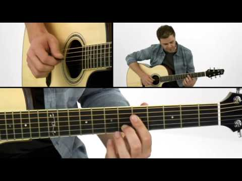 Acoustic Groove Guitar Lesson - #2 Simplified Chord Voicings - Adam Miller