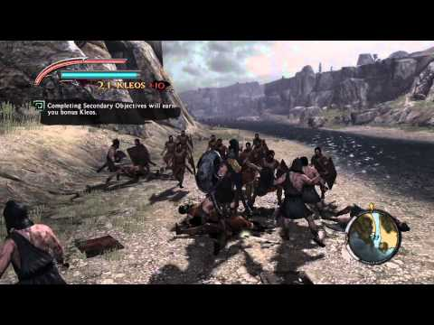 Lets Play Warriors Legends of Troy Part 1: Landing