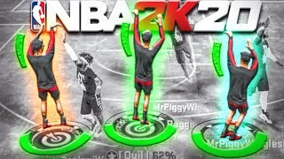 BEST 3 JUMPSHOTS IN NBA 2K20! STRAIGHT GREENS NEVER MISS AGAIN NBA 2K20