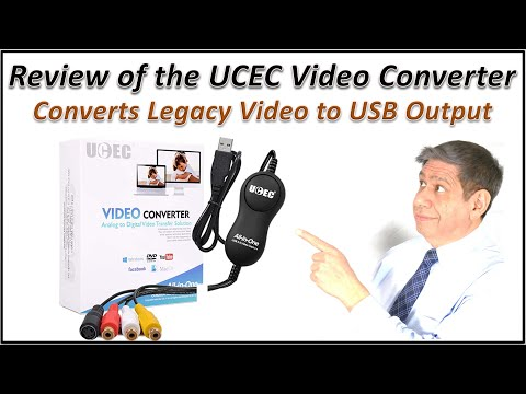Review of the UCEC USB Video Converter/Adapter – Box Opening, Setup, Testing and Sample Output