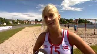 Beach Handball - Linn Sulland & Linn Goss