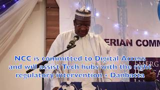 NCC is committed to Digital Access and will assist Tech hubs with the right regulatory intervention