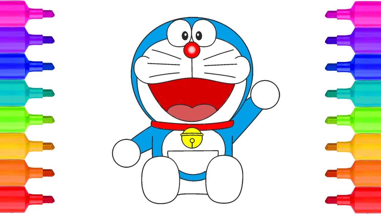 Doraemon Coloring Pages | Fantasy Coloring Pages | Cartoon ... | 720x1280