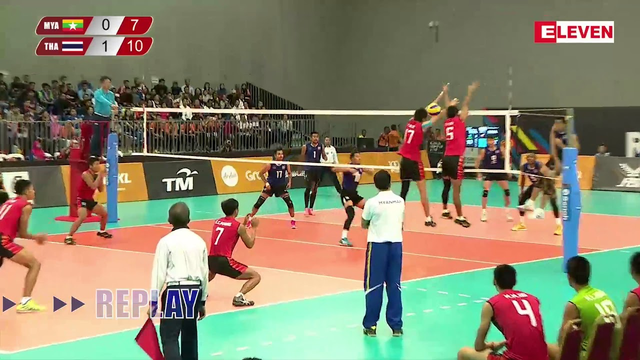 29th Sea Games Volley Ball Youtube