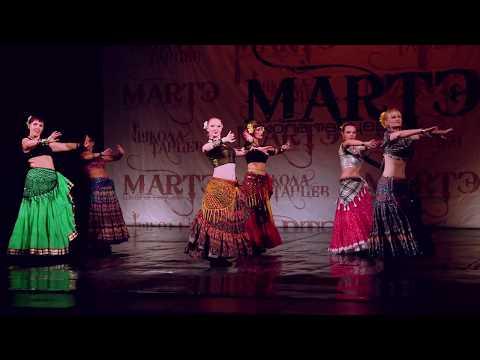 Новое видео по восточным танцам и фламенко! Школа танцев МАРТЭ