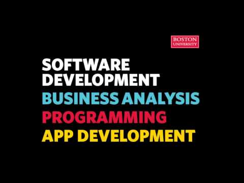 Master of Science in Software Development (MSSD) Webinar 2017