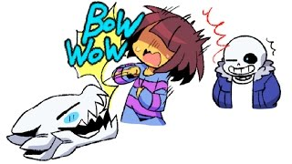 【Funny and Sad UnderTale Animation Movie #103】Epic Undertale Comic dubs Compilation