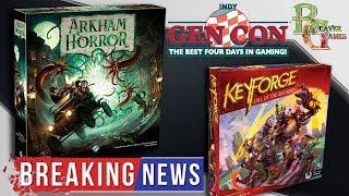Ужас Аркхема 3 \ Новое издание и Keyforge от FFG