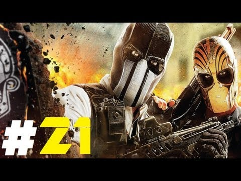 Army of TWO: The Devil's Cartel Pt.21 || PS3 || Alpha & Bravo vs The Butcher