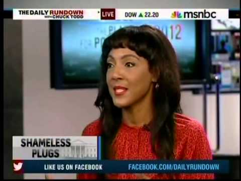 MSNBC's Michelle Bernard Plugs Howard's Bridging the Gap Campaign