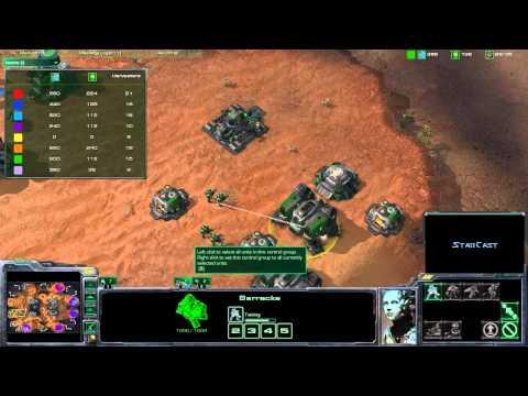 Starcraft 2 - 4v4 Auswar - Part 1/3