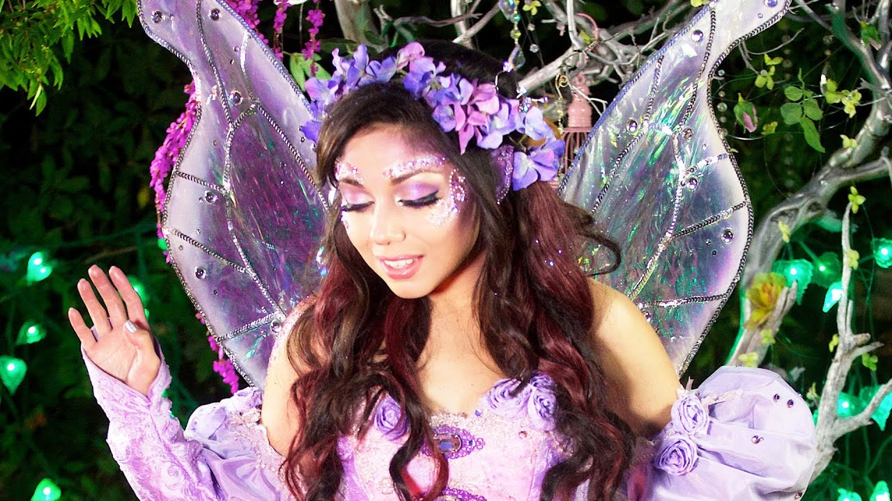Little Girl With Flowers Hd Wallpaper Fairy Princess Makeup Charisma Star Youtube