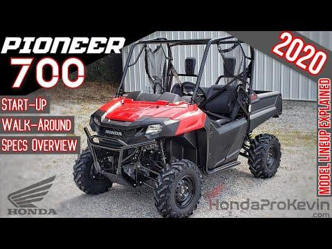 2020 Honda Pioneer 700 Review of Specs / Walk-Around | Base Model SxS / UTV: SXS700M2