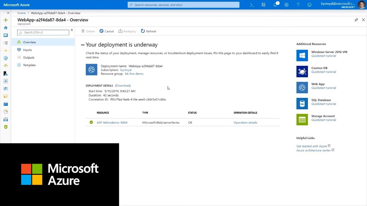 How to create App Services in the Azure portal | Azure Portal Series