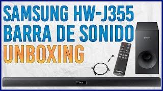 Unboxing Barra de Sonido Samsung HW J355 Soundbar
